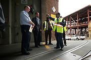 Ed Reiskin, New Director of Transportation, Visits Cable Car Barn