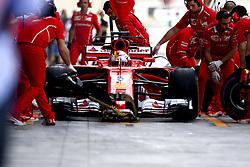 November 24, 2017 - Abu Dhabi, United Arab Emirates - Motorsports: FIA Formula One World Championship 2017, Grand Prix of Abu Dhabi, .#5 Sebastian Vettel (GER, Scuderia Ferrari) (Credit Image: © Hoch Zwei via ZUMA Wire)