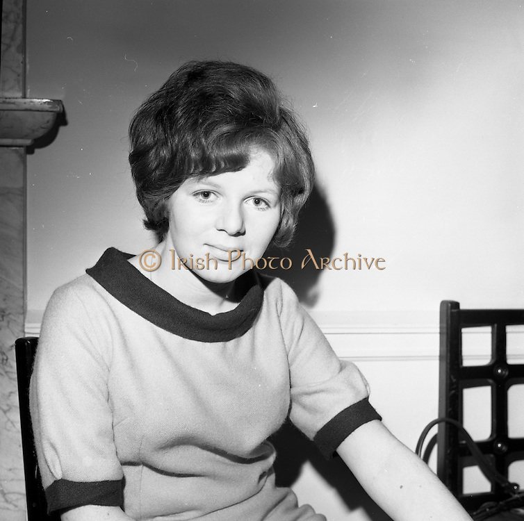 23/11/1964<br /> 11/12/1964<br /> 23 November 1964<br /> <br /> 19 Sales Girls from various parts of Ireland, at a Presentation in the Royal Hibernian Hotel <br /> <br /> Miss Rose Henebrey, The Munster Warehouse, Tralee