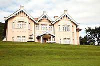 Colonial Villa in Nuwara Eliya, the heart of the Sri Lanka Hill Tea Country.  When the Ceylon tea industry was born, Scottish and English planters set up the plantations, favouring the cooler climate of Nuwara Eliya to the coastal regions of Sri Lanka or Ceylon as it was then known.