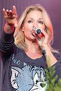 """Auftritt von Michelle beim Open Air-Festival """"Der Berg bebt!"""" vom 15.07.2017 auf dem Plaun Grond, Flims."""