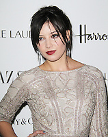LONDON - OCTOBER 31: Daisy Lowe attended the Harper's Bazaar Women of the Year Awards at Claridge's Hotel, London, UK. October 31, 2012. (Photo by Richard Goldschmidt)