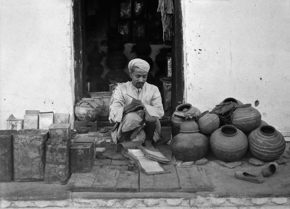 A Merchant, Udaipur, India, 1929