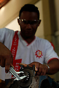 Belo Horizonte_MG, Brasil.<br /> <br /> Imagens da Escola Estadual Tecnico Industrial Professor Fontes, beneficiada por recursos do PRONATEC (Programa Nacional de acesso ao Ensino Tecnico e Emprego) em Belo Horizonte, Minas Gerais.<br /> <br /> State School Professor Fontes benefited by PRONATEC resources (National Program for Access to Technical Education and Employment) in Belo Horizonte, Minas Gerais.<br /> <br /> Foto: JOAO MARCOS ROSA / NITRO