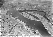 "Ackroyd 08427-9. ""Commission of Public Docks. Terminal #1 & Swan Island. July 7, 1958"" (5x7"")"
