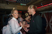 VICTORIA TRIPP; DAVID BEATTY, The launch of Beaver Lodge in Chelsea, a cabin bar and dance saloon, 266 Fulham Rd. London. 4 December 2014