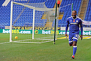 Cardiff City's Junior Hoilett celebrates after scoring his teams 2nd goal.   EFL Skybet championship match, Cardiff city v Huddersfield Town at the Cardiff city stadium in Cardiff, South Wales on Saturday 19th November 2016.<br /> pic by Carl Robertson, Andrew Orchard sports photography.