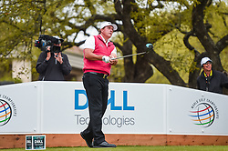 March 23, 2018 - Austin, TX, U.S. - AUSTIN, TX - MARCH 23: Phil Mickelson tees off to begin the third round of the WGC-Dell Technologies Match Play on March 23, 2018 at Austin Country Club in Austin, TX. (Photo by Daniel Dunn/Icon Sportswire) (Credit Image: © Daniel Dunn/Icon SMI via ZUMA Press)
