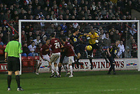 Photo: Mark Stephenson.<br />Walsall v Bristol Rovers. Coca Cola League 2. 30/12/2006<br />Rover's shoot at goal