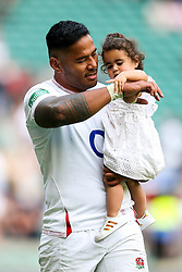 Manu Tuilagi after England win 57-15 - Rogan/JMP - 24/08/2019 - RUGBY UNION - Twickenham Stadium - London, England - England v Ireland - Quilter Series.