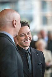 Irvine Welsh, James McAvoy.<br /> Edinburgh hosts the World Premiere of Filth at the Omni cinema.<br /> ©Michael Schofield.