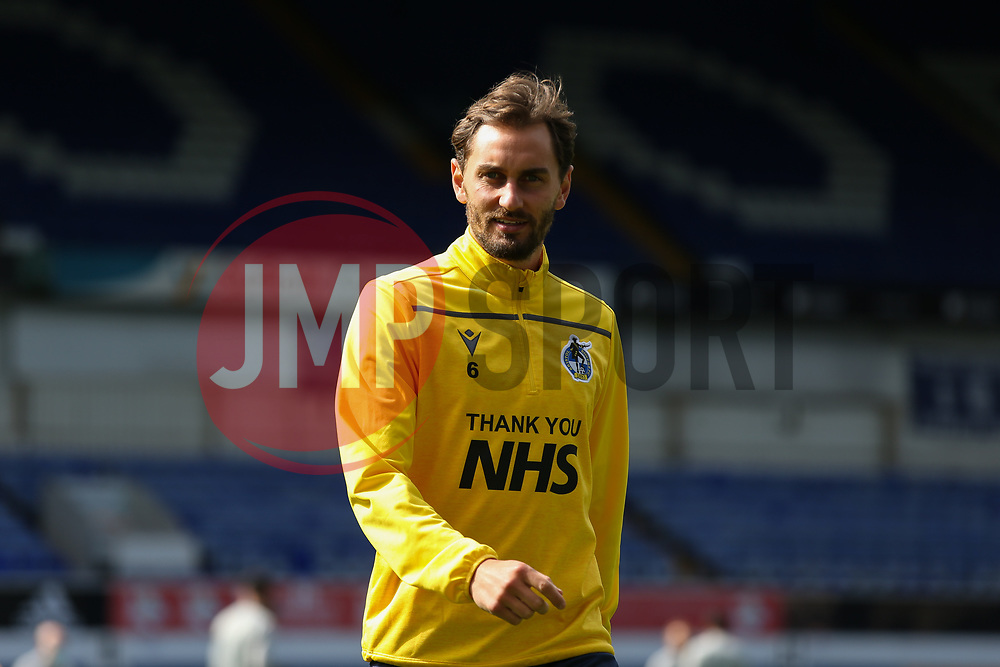 Edward Upson of Bristol Rovers during the warm up - Mandatory by-line: Arron Gent/JMP - 05/09/2020 - FOOTBALL - Portman Road - Ipswich, England - Ipswich Town v Bristol Rovers - Carabao Cup