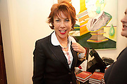 KATHY LETTE, Fay Weldon, book launch for  Chalcot Crescent.<br /> The Arts Club, 40 Dover Street, London W1, 6.30-8.30pm<br /> Fay Weldon
