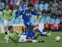 Fotball , 18 mars 2006 , Getafe - Deportivo . Gavilan og Hector
