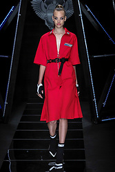 Milan fashion man spring summer 2019. Frankie Morello Fashion Show in the picture: model