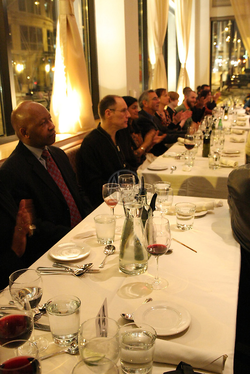 Guiding Lights Weekend luminary dinner at Fare Start in Seattle.
