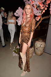 Lady Mary Charteris at the Warner Music Group and British GQ Summer Party in partnership with Quintessentially held at Nobu Shoreditch, Willow StreetLondon England. 5 July 2017.<br /> Photo by Dominic O'Neill/SilverHub 0203 174 1069 sales@silverhubmedia.com