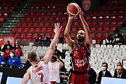 ShieldsShavon of Olimpia Milano <br /> Openjobmetis Varese - A X Armani Exchange Milano <br /> Basket Serie A LBA 2020/2021<br /> Varese  06 December 2020.<br /> Foto Mattia Ozbot / Ciamillo-Castoria