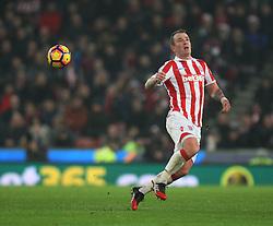 Glenn Whelan of Stoke City in action - Mandatory by-line: Jack Phillips/JMP - 17/12/2016 - FOOTBALL - Bet365 Stadium - Stoke-on-Trent, England - Stoke City v Leicester City - Premier League
