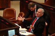 Netanyahu at the Knesset.7.1.04