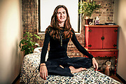 Grianne McKeown, a practitioner of acupuncture and oriental medicine, poses for a portrait on Tuesday Feb. 28, 2012. McKeown founded Mindful Medicine Worldwide, that sends alternative medicine specialists to Nepal and provide free care to communities in need.<br /> <br />  (William DeShazer/Chicago Tribune) B581891438Z.1<br /> ....OUTSIDE TRIBUNE CO.- NO MAGS,  NO SALES, NO INTERNET, NO TV, NEW YORK TIMES OUT, CHICAGO OUT, NO DIGITAL MANIPULATION...