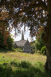 The meadow and church