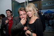 SCOTT DOUGLAS; JO WOOD, Tracey Emin opening. White Cube. Mason's Yard. London. 28 May 2009.