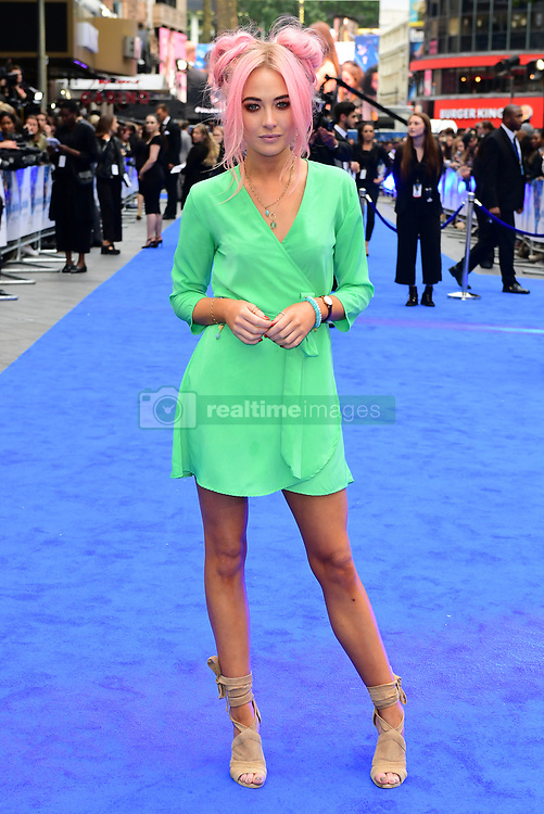 Nicola Hughes attending the European premiere of Valerian and the City of a Thousand Planets at Cineworld in Leicester Square, London.
