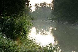Buffalo Bayou nature scenes in Houston,Texas