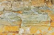 Sandstone detail<br /> <br /> Hornby Island in the Gulf Islands<br /> British Columbia<br /> Canada