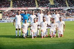 October 22, 2017 - Turin, Piemonte/Torino, Italy - AS Roma team and Daniele De Rossi posed before the Serie A match Torino FC vs Roma. Roma wins 0-1. Turin, 22th october 2017 Italy (Credit Image: © Albertogandolfo/Pacific Press via ZUMA Wire)