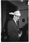 Lord Xan Rufus-isaacs, ,  St Moritz 1985© Copyright Photograph by Dafydd Jones 66 Stockwell Park Rd. London SW9 0DA Tel 020 7733 0108 www.dafjones.com
