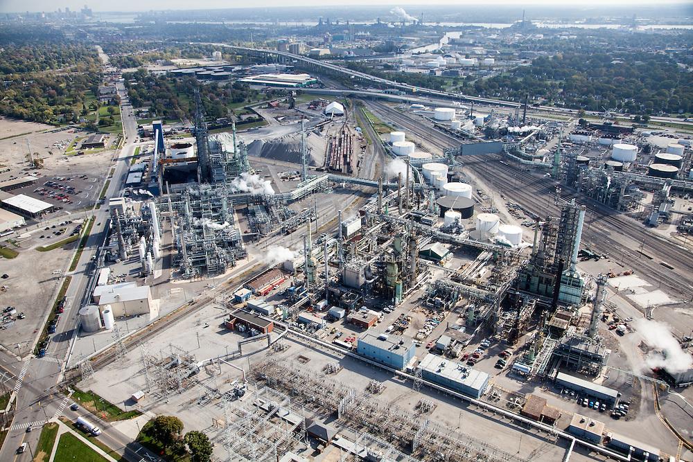 Marathon's Detroit Refinery in Detroit had a 74% tar sands usage in 2013.