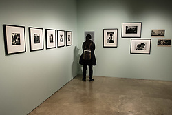 February 6, 2018 - Rome, Italy - Visitors attend the 'Magnum Manifesto' exhibition preview at Ara Pacis Museum. This landmark exhibition celebrates the 70th anniversary of the renowned photo agency Magnum Photos created in 1947. (Credit Image: © Giuseppe Ciccia/Pacific Press via ZUMA Wire)