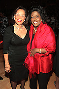 October 16, 2012-New York, NY : (L-R) Sahara Ahmad-Llewellyn and Ingrid Saunders Jones, SVP, Global Community Connection and Chair of the Coca-Cola Foundation at the 3rd Annual National Action Network Triumph Awards held at Jazz at Lincoln Center on October 16, 2012 in New York City. The Triumph Awards were established by the National Action Network to recognize the contributions of humanitarians from all walks of life and to encourage future generations to drum majors for justice. (Terrence Jennings)