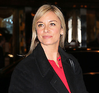 Tamzin Outhwaite, Exhibition of exclusive photographs of Kate Moss at The Savoy, London UK, 30 January 2014, Photo by Richard Goldschmidt