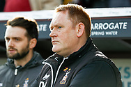 Bradford City Manager David Hopkin during the EFL Sky Bet League 1 match between Bradford City and Sunderland at the Northern Commercials Stadium, Bradford, England on 6 October 2018.