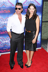 © Licensed to London News Pictures. 27/08/2014, UK. , Simon Cowell & Lauren Silverman, The X Factor - Press Launch 2014, The Ham Yard Hotel, London UK, 27 August 2014. Photo credit : Brett D. Cove/Piqtured/LNP