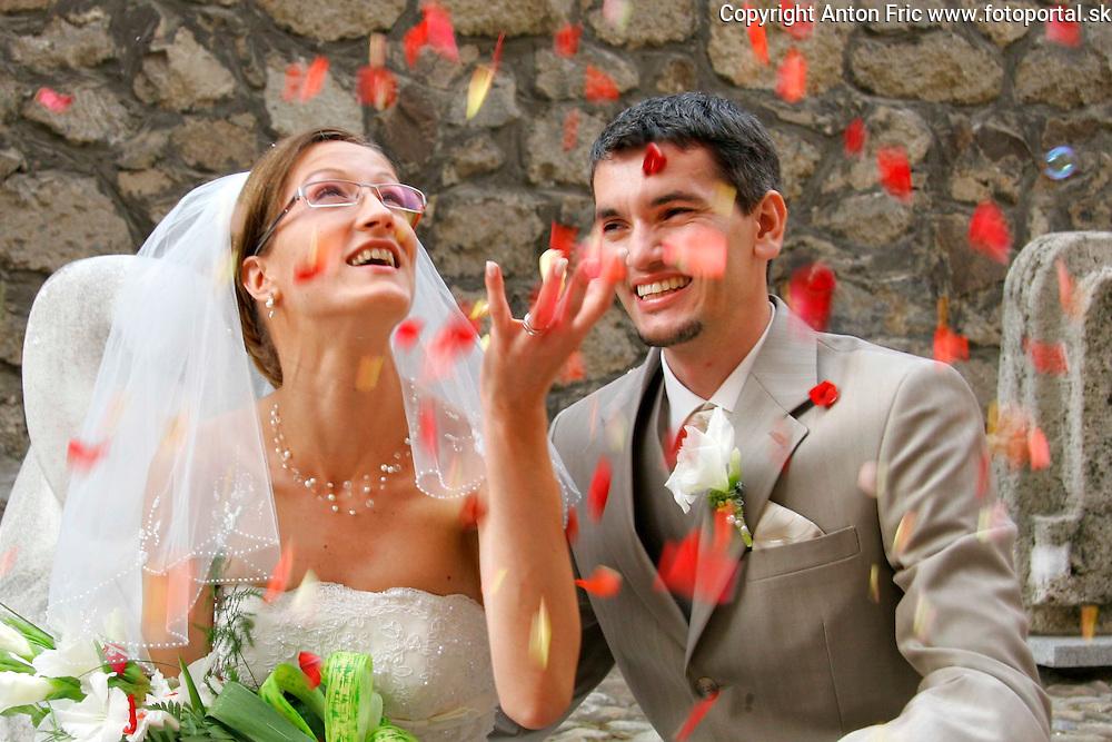 Wedding in Zvolen, Svadba vo Zvolene, Slovakia