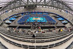 July 4, 2017 - Arena da Baixada recebe Brasil e Canadá, partida de estreia da fase final da Liga Mundial de Vôlei, em Curitiba, Pr. (Credit Image: © Reinaldo Reginato/Fotoarena via ZUMA Press)