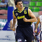 Fenerbahce Ulker's Mirsad TURKCAN during their Turkish Basketball league Play Off Final first leg match Efes Pilsen between Fenerbahce Ulker at the Ayhan Sahenk Arena in Istanbul Turkey on Thursday 20 May 2010. Photo by Aykut AKICI/TURKPIX