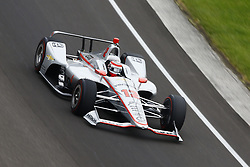 May 18, 2018 - Indianapolis, Indiana, United States of America - WILL POWER (12) of Australia brings his car through turn one during ''Fast Friday'' practice for the Indianapolis 500 at the Indianapolis Motor Speedway in Indianapolis, Indiana. (Credit Image: © Chris Owens Asp Inc/ASP via ZUMA Wire)