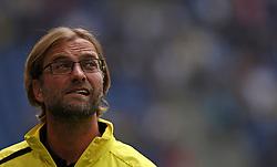 Football: Germany, Liga Total Cup, Borussia Dortmund, Hamburg, 04.08.2012.coach Juergen Klopp (BVB).©Êpixathlon