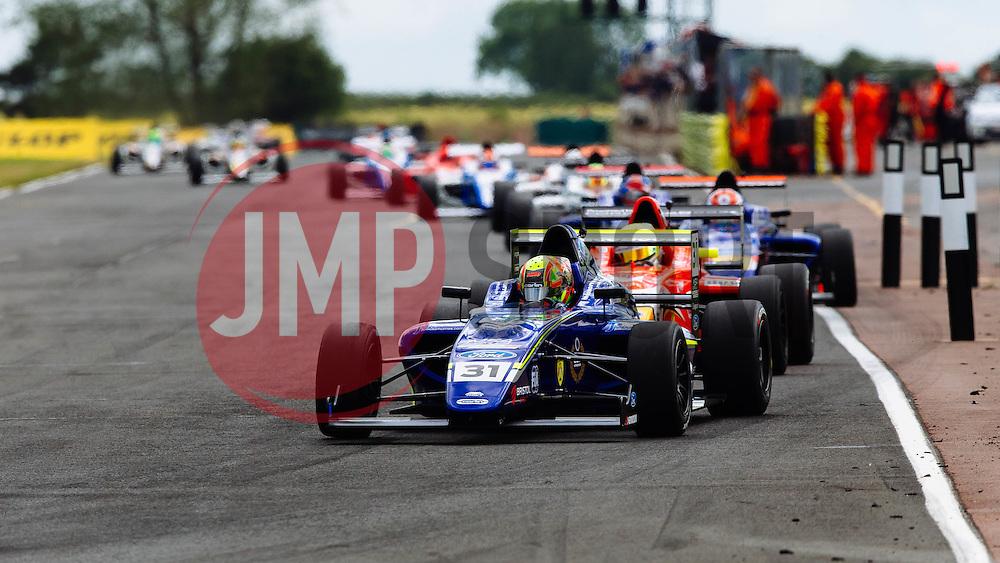 Lando Norris 3rd place finish   #31 Carlin   MSA Formula Championship   Race 3 - Mandatory byline: Rogan Thomson/JMP - 07966 386802 - 28/06/2015 - SPORT - MOTORSPORT - North Yorkshire, England - Croft Circuit - BTCC Meeting Day 2.