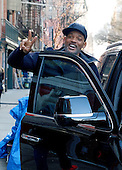 Actor Will Smith on set of new Film