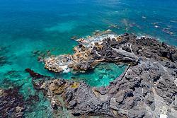 Luftaufnahme von der Suedkueste auf Pico, Azoren, Atlantik, Atlantischer Ozean / Aerial view from the South Coast of Pico, Acores, Atlantic Ocean