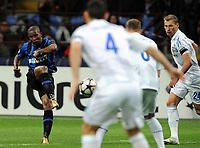 "A shot of Samuel ETO'O (Inter)<br /> Milano 31/3/2010 Stadio ""Giuseppe Meazza""<br /> Champions League Quarti di Finale - Quarter-finals  Leg1<br /> Inter - Cska Moscow Mosca<br /> Foto Nicolo' Zangirolami Insidefoto"