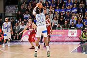 DESCRIZIONE : Campionato 2014/15 Dinamo Banco di Sardegna Sassari - Openjobmetis Varese<br /> GIOCATORE : Kenneth Kadji<br /> CATEGORIA : Tiro Tre Punti Three Points Controcampo<br /> SQUADRA : Dinamo Banco di Sardegna Sassari<br /> EVENTO : LegaBasket Serie A Beko 2014/2015<br /> GARA : Dinamo Banco di Sardegna Sassari - Openjobmetis Varese<br /> DATA : 19/04/2015<br /> SPORT : Pallacanestro <br /> AUTORE : Agenzia Ciamillo-Castoria/L.Canu<br /> Predefinita :