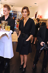 PRINCESS ROSARIO OF BULGARIA at a party to celebrate the opening of Pincess Marie-Chantal of Greece's store 'Marie-Chantal' 133A Sloane Street, London on 14th October 2008.