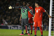 Yvon Nganoma, Swiss U21 during the UEFA European Championship Under 21 2017 Qualifier match between England and Switzerland at the American Express Community Stadium, Brighton and Hove, England on 16 November 2015.